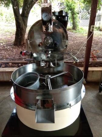 Mesin penyangrai kopi