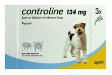 Controline 134 mg.