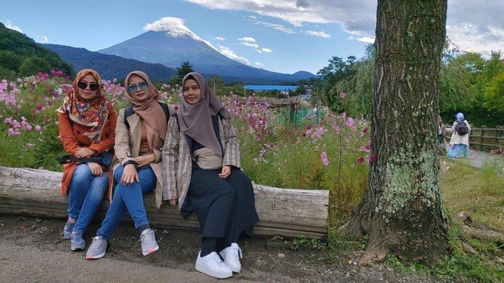Gunung Fuji.