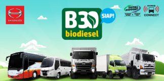 PT Hino Motor Sales Indonesia mendukung program biodiesel B30.