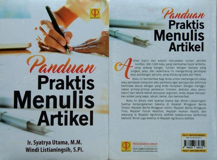 Buku Panduan Praktis Menulis Artikel.