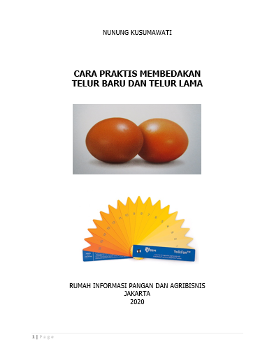 Telur baru dan lama