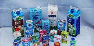 beragam produk susu