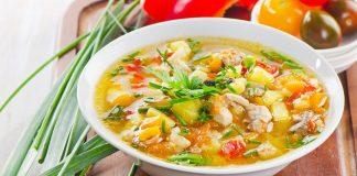 Sup ayam komplit