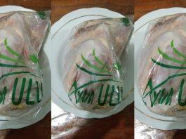 Tekstur ayam ULU ini selembut ayam ras, tapi rasanya segurih ayam kampung.