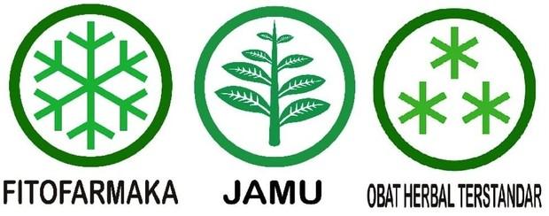 Perhatikan logo jamu, obat herbal terstandar, dan fitofarmaka sebagai panduan dalam mengonsumsi obat bahan alam Indonesia.