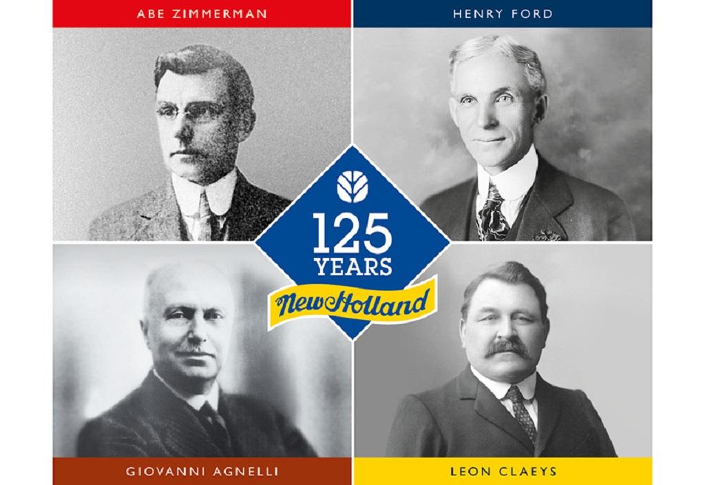 Semua inovasi Zimmerman, Ford, Agnelli, dan Claeys ini bernaung di bawah New Holland Agriculture, CNH Industrial.