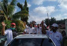Dewi Sartika alias Rika Yohan dan Marwan Iswandi bakal calon Bupati dan Wakil Bupati Bengkulu Selatan periode 2021 – 2025.