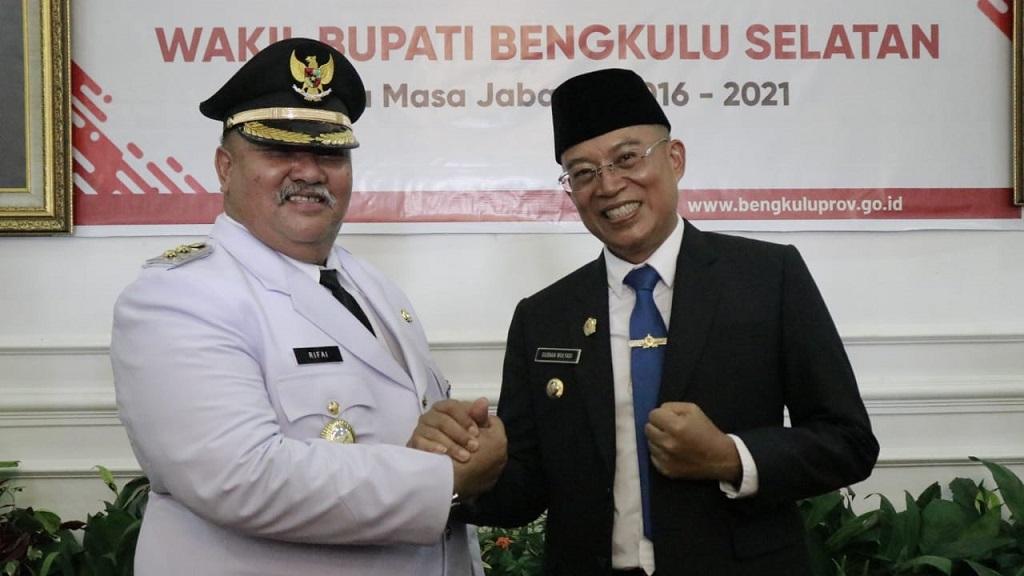 Gusnan Mulyadi dan Rifai Tajuddin bakal calon Bupati dan Wakil Bupati Bengkulu Selatan periode 2021 – 2025.
