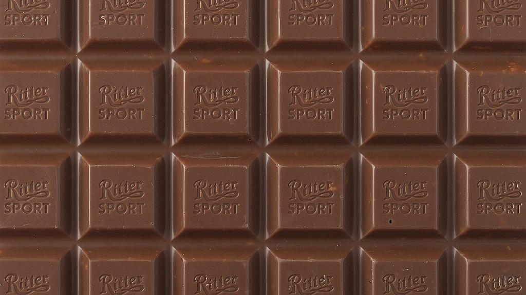 Cokelat Ritter Sport mempunyai cita rasa krim dan kental di mulut.