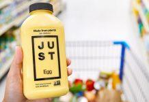 JUST Egg sebagian besar terbuat dari protein kacang hijau.