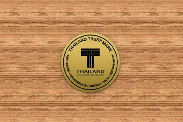 Thailand Trust Mark merupakan simbol kepercayaan konsumen terhadap produk yang dipasarkan perusahaan-perusahaan Thailand.