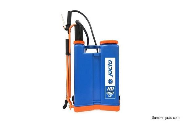 Konsentrasi aplikasi Goal 240 EC adalah 20 ml/16 liter air.
