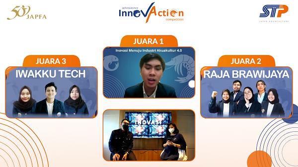 Inovasi teknologi akuakultur Suri Tani Pemuka, anak usaha Grup Japfa.