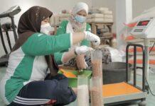 Kelompok Tani DSA Al-Barokah berhasil mengekspor 15 ton beras organik/bulan ke Yordania dan Qatar.